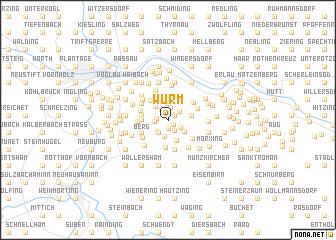 map of Würm