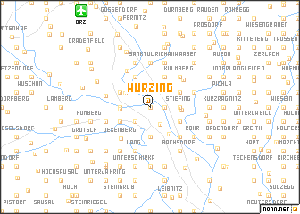 map of Wurzing