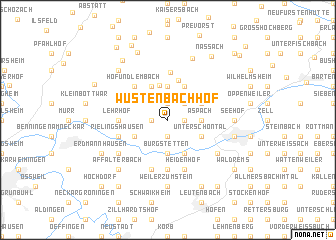 map of Wüstenbachhof