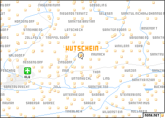 map of Wutschein