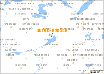 map of Wutscherogge