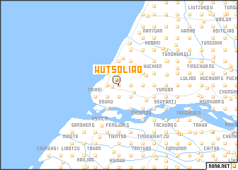 map of Wu-ts\