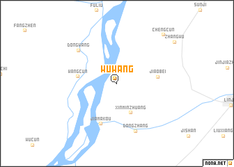 map of Wuwang