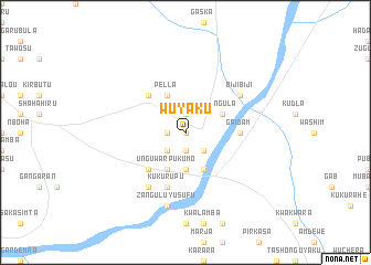 map of Wuyaku