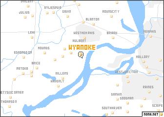 map of Wyanoke