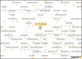 map of Wygoda