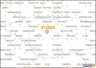 map of Wygoda