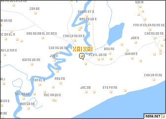 XaiXai Mozambique map nonanet
