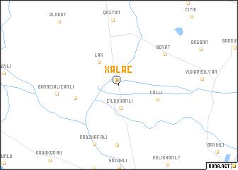map of Xǝlǝc