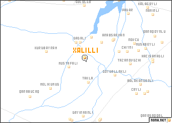 map of Xǝlilli