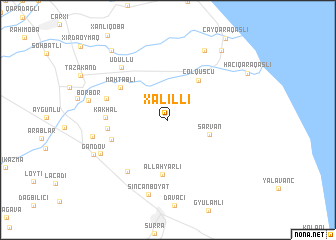 map of Xǝlilli