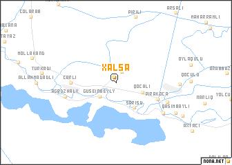 map of Xǝlsǝ