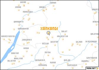 map of Xankǝndi
