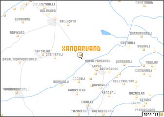 map of Xan Qǝrvǝnd
