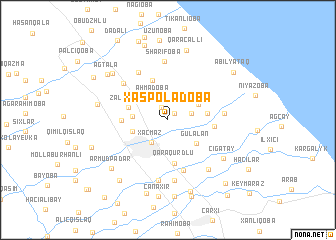 map of Xaspoladoba