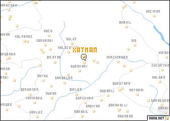map of Xatman