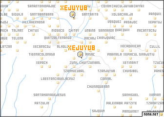 map of Xejuyub