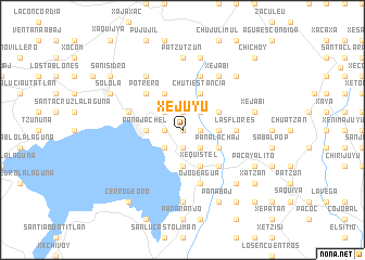 map of Xejuyú