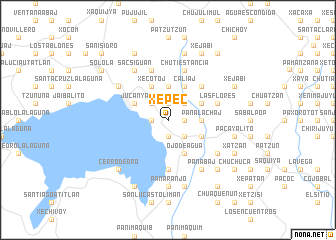 map of Xepec