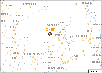 map of Xhan