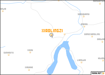 map of Xiaolingzi