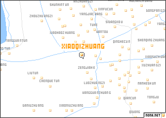 map of Xiaoqizhuang