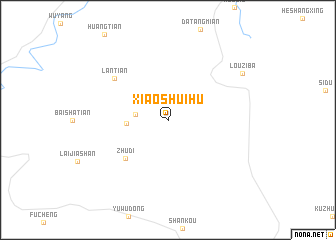 map of Xiaoshuihu