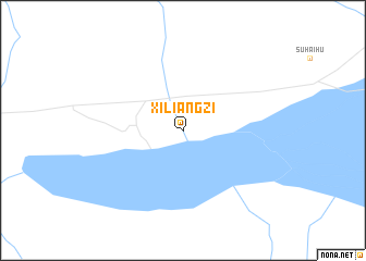 map of Xiliangzi
