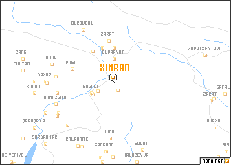 map of Ximran