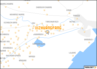 map of Xizhuangfang