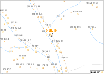 map of Xocik