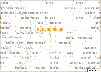 map of Xolsacmaljá