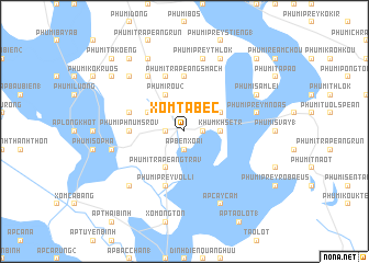 map of Xóm Tà Bec