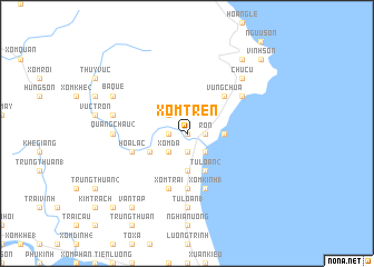 map of Xóm Trên
