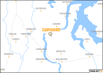 map of Xupishan
