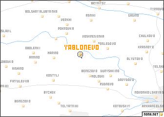 map of Yablonevo