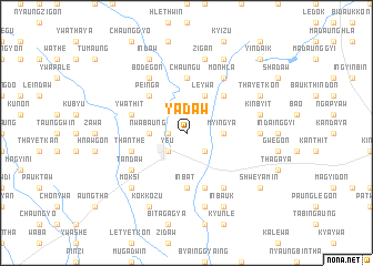 map of Yadaw