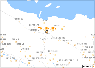 map of Yaguajay