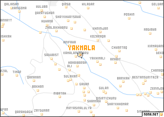 map of Yakmāla