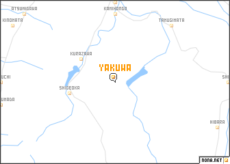 map of Yakuwa