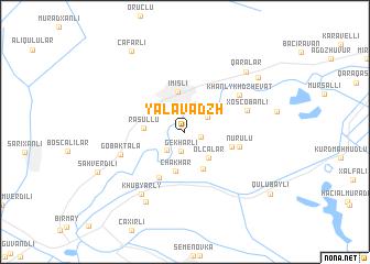 map of Yalavadzh