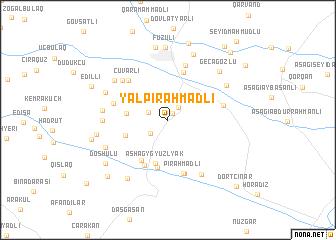 map of Yal Pirǝhmadli