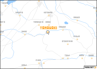 map of Yamawaki