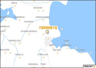map of Yanamayo