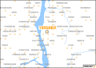 map of Yandabin
