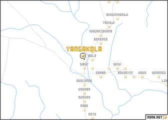 map of Yangakola