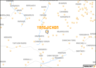 map of Yangjich\