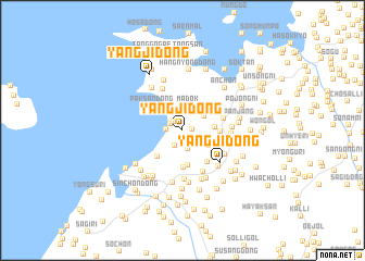 map of Yangji-dong