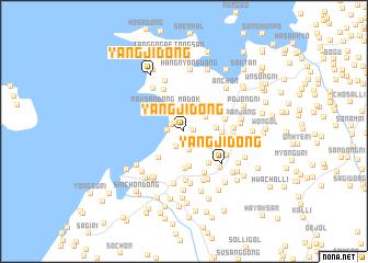 map of Yangji-dong