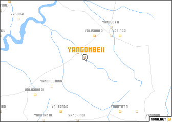 map of Yangombe II